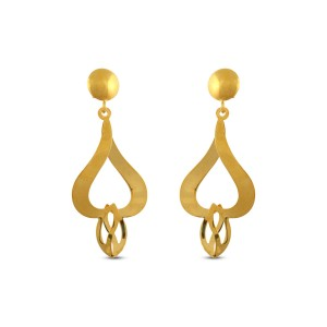 Mercedes Gold Earrings