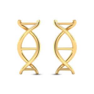Aayati DNA Stud Earrings
