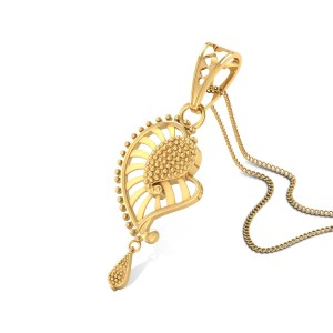 Buy Laelia Gold Pendant in 3.1 Grams Gold Online