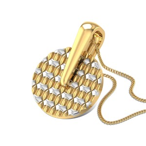 Abhisarika Gold Pendant