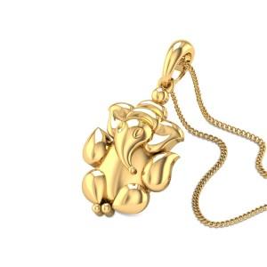 Eshanputra Gold Pendant