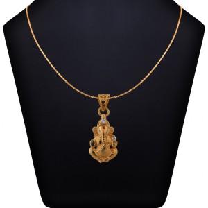 Gananathan Gold Pendant