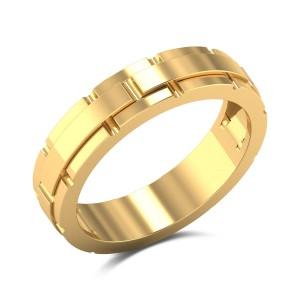 Adhvika Stylish Gold Ring