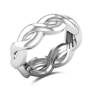 Aeshna Twisted Gold Ring