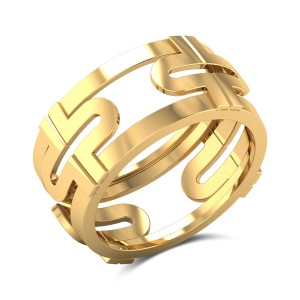 Aesha Lively Gold Ring