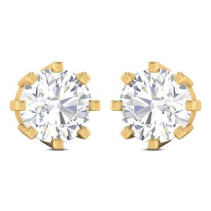 Carlisle Solitaire Earring