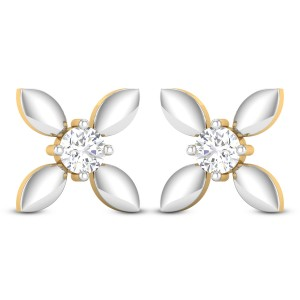 Udantika Solitaire Stud Earrings