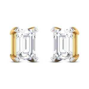 Attwell Solitaire Stud Earrings