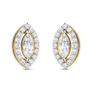Kodiak Solitaire Stud Earrings