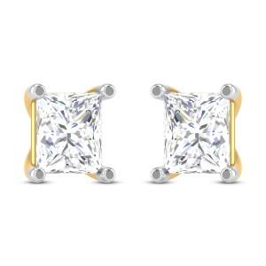 Haywood Solitaire Stud Earrings