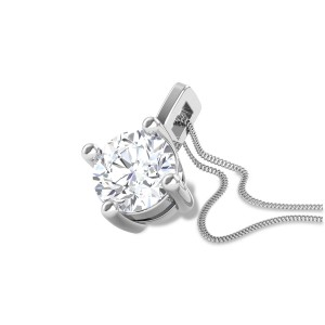 Bandhura 4 Prong Solitaire Pendant