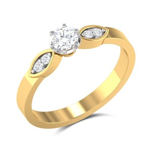 Martese Diamond 6 Prong Solitaire Ring