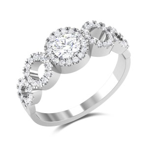 Banmala Solitaire Ring