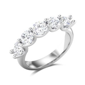 Loving Forever Solitaire Ring