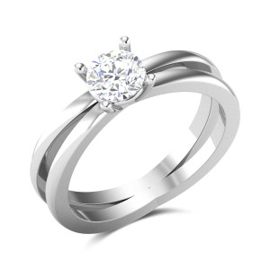 Bethina 4 Prong Solitaire Ring