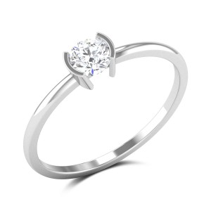 Vaughan Bezel Setting Solitaire Ring