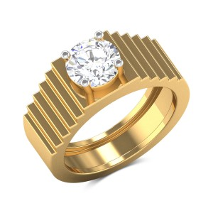 Alfreda 4 Prong Solitaire Ring