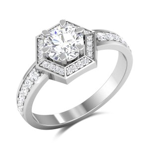 Alda Solitaire Ring