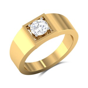 Pike Solitaire Ring