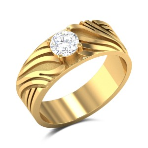 Rufus Solitaire Ring
