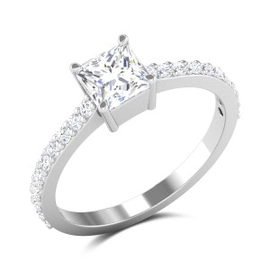 Osborne Princess Cut Solitaire Ring