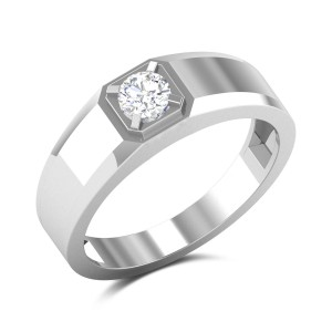 Kermit Solitaire Ring