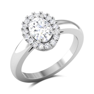 Liana Oval Cut Solitaire Ring