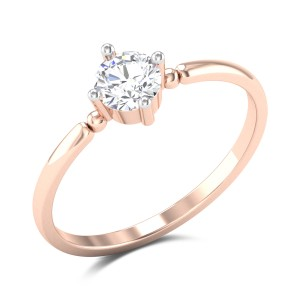 Lilija 4 Prong Solitaire Ring