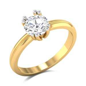 Lorena Solitaire Ring