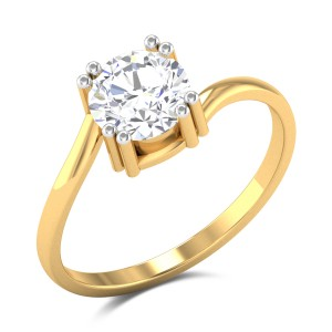 Maddox Solitaire Ring