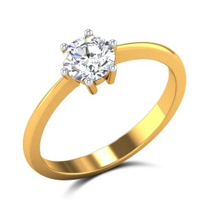 Mahalia 6 Prong Solitaire Ring