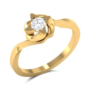 Rainah Solitaire Ring