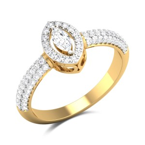 Gaylyn Marquise Cut Solitaire Ring