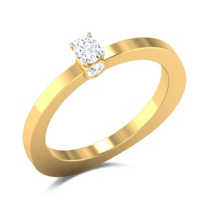 Gerarda Oval Cut Solitaire Ring