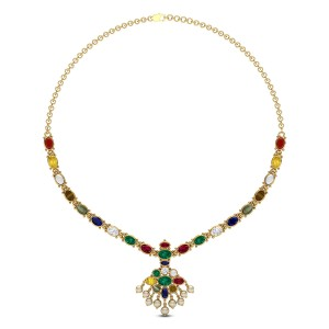 Charismatic Navratna Necklace