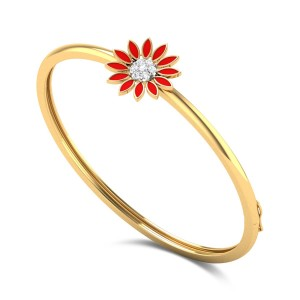 Zaarbera Kids Diamond Bangle