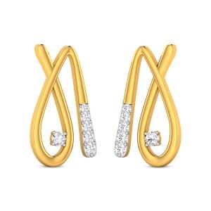 Ibiza Diamond Stud Earrings