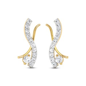Audrey Diamond Earrings