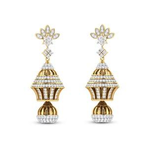 Hamish Diamond Jhumkas