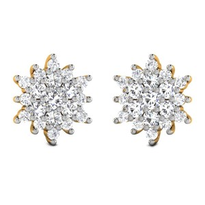 Feeza Diamond Stud Earrings