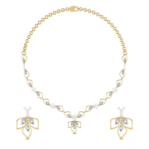 Asmaka Diamond Necklace