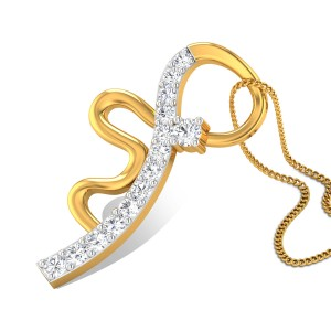 Aubree Diamond Pendant