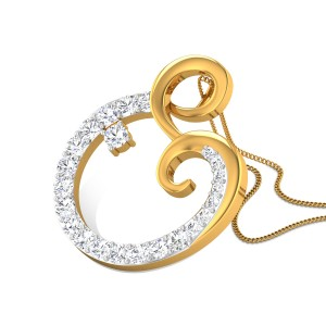 Calice Diamond Pendant