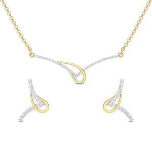 Taahira Diamond Pendant Set