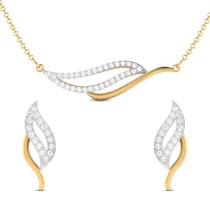 Trayi Diamond Pendant Set