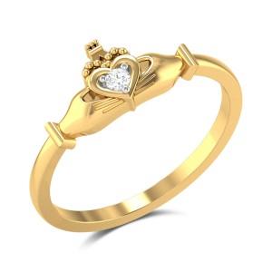 Halsten Romantic Heart Diamond Ring