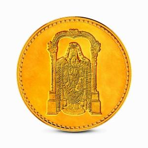 1 Gram 24Kt Balaji Gold Coin
