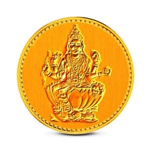 1 Gram 24Kt Laxmi Gold Coin