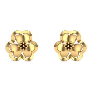 Abhirathi Floral Stud Earrings