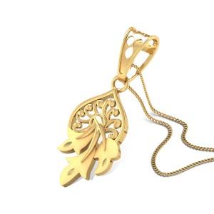Fermata Gold Pendant